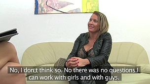 Laura (41 mins)  Laura had two very particular assets that were hard to miss when this playgirl walked into the office as they arrived throughout the door 5 mins in advance of that playgirl did. U`ve guessed it, it was her pointer sisters! I have at no ti
