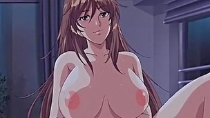 It is the dark rainy night and chap is spying his hentai gal neighbor masturbating bawdy cleft in panty