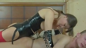 Freaky chick aching to get sissy fellow
