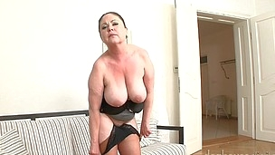 Hawt Grand-Mothers Stripping Just For Us On Web Camera! Not To Miss