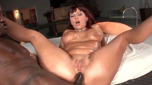Horny mother i`d like to fuck can't live without black jock in her a-hole
