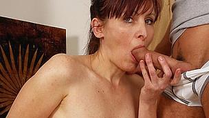 Lewd housewife getting takin it like a pro