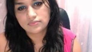 Hot indian desi shows boobs on webcam