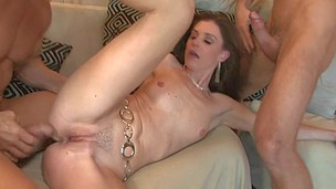 Angry wife wants to get fuck by her husband and her neighbour